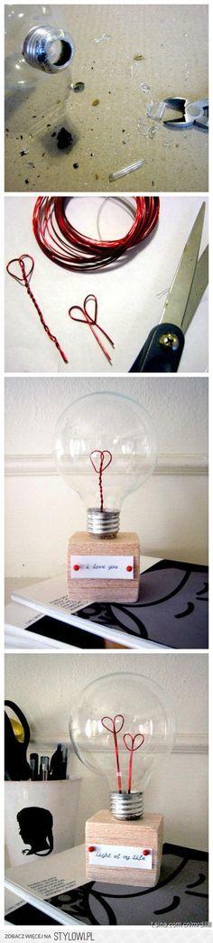 Lightbulb decoration:)