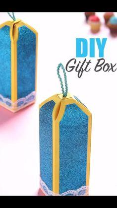 Diy Crafts Hacks, Diy Crafts For Gifts, Diy Home Crafts, Diy Crafts Videos, Easy Paper Crafts, Paper Crafts Origami, Diy Gift Box, Instagram, Ideas