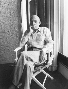Paul Michel Foucault par Bruno de Mones/Roger-Viollet