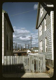 Connecticut town, probably Stonington, on the sea (WPA/FSA photo by Jack Delano)