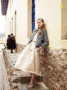 Nathalia Oliveira for Marie Claire Australia  Image Via: This Is Glamorous