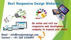 Responsive web design sites