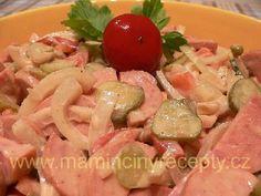 SLOVÁCKÝ SALÁT Potato Salad, Dips, Potatoes, Spreads, Ethnic Recipes, Sauces, Food, Potato, Essen