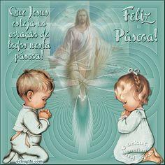 Feliz Páscoa! Que Jesus esteja no coração de todos nesta Páscoa!