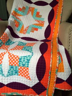 "Sew Kind Of Wonderful: ""Metro Twist"" and ""Curve it Up"" quilts are both quilted!"