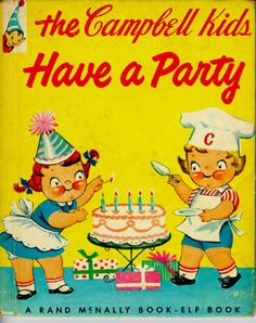 cambell kids have a party by rand mcnally book elf book.