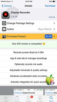 How to Record iPhone Screen Video On iOS 9 / 9.0.2 http://webusinessplan.blogspot.com/2015/10/record-iphone-screen-video-ios-902.html