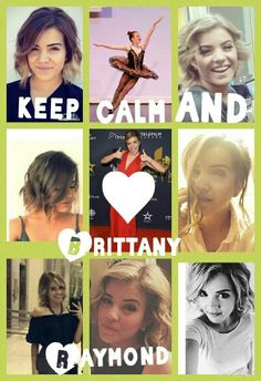 Keep Calm and ♥ Brittany Raymond Step Tv, Briar Nolet, Dance Mums, Favorite Tv Shows, My Favorite Things, The Next Step, Best Dance, Keep Calm And Love, Best Couple