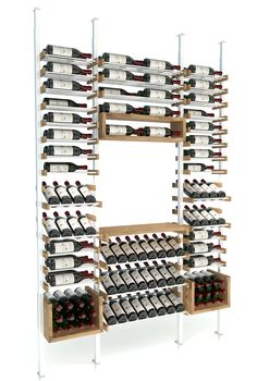 Our best seller and our personal favorite to display your wine collection while tasting your wines with friends and families. Comes in various options