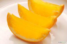 Jello Shots in an orange! genious!