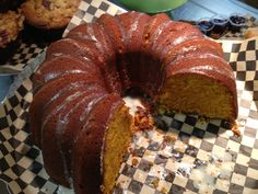 The Black Rooster Bakery Pumpkin Coffee Cake