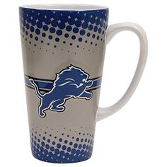 Detroit Lions 16oz ceramic latte coffee mug
