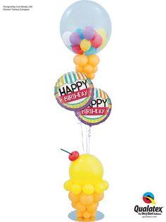 Balloon Company How To Make Ice Cream Theme Candy