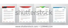 Find Letterhead Template Set stock images in HD and millions of other royalty-free stock photos, illustrations and vectors in the Shutterstock collection. Letterhead Template, New Pictures, Royalty Free Photos, Create Yourself, Advice, Templates, Stencils, Tips, Vorlage