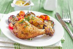 Týždenný jedálniček na chudnutie: Toto vás prekvapí! - cvikynadoma.sk Tortilla, Tandoori Chicken, Barbecue, Food And Drink, Turkey, Meat, Ethnic Recipes, Voici, Blog