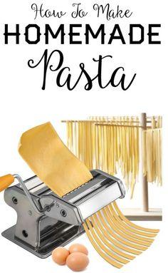 How To Make Homemade Pasta | eBay