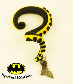 Batman Inspired Octopus Tentacle Gauges  6G to by HipsterOctopus, $30.00