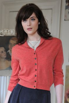 Cashmere Vintage Collared Cardigan. Perfect in every way..... But it's £195......