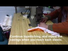 Sew a Swim Diaper in under 5 minutes - YouTube