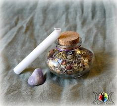 Blessings Witch Bottle DIY Kit for Happiness, Joy, and Good Luck