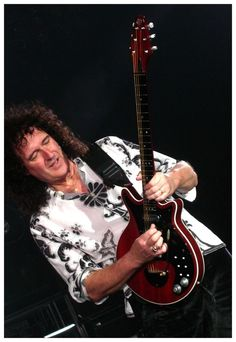 """""""We do play to our audience. It's very important. You can't create music in a vacuum.' - Brian May"""