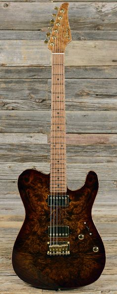 SUHR Classic T Burl Sunburst (s401) | Chicago Music Exchange  lessonator.com