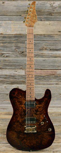 SUHR Classic T Burl Sunburst (s401) | Chicago Music Exchange  lessonator.com