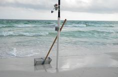 How to make a cheap and effective Sand Spike for Surf Fishing