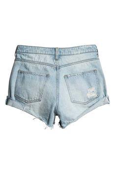 Pantalón corto vaquero Trashed. Denim ClaroPantalón CortoPantalones  CortosBolsillosVaquerosAzulMujer 9e9b8da583c8