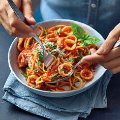 italian recipes for dinner ; Healthy Italian Recipes, Italian Pasta Recipes, Chicken Pasta Recipes, Easy Healthy Recipes, Easy Appetizer Recipes, Easy Dinner Recipes, Easy Meals, Plats Weight Watchers, Weight Watchers Meals