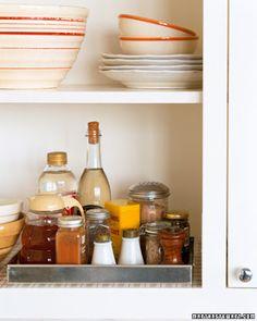 Organizando a cozinha | Figos & Funghis
