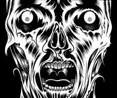Charles Burns via Monster Brains