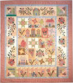 Image result for rosewood cottage quilt pattern