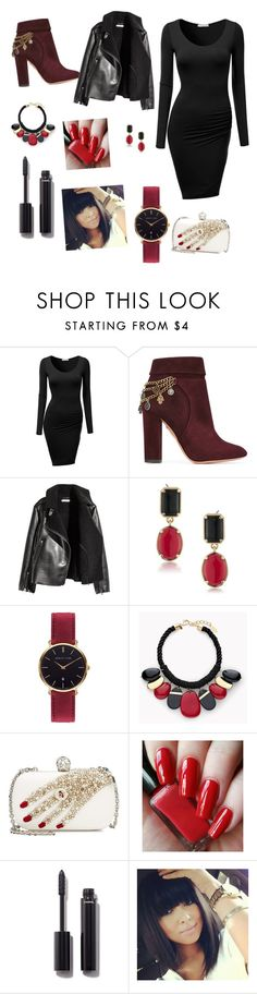 """""""Untitled #8"""" by selmiravehabovicc ❤ liked on Polyvore featuring beauty, J.TOMSON, Aquazzura, 1st & Gorgeous by Carolee, Abbott Lyon, Chico's, Alexander McQueen and Chanel"""