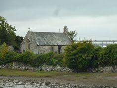 St. Tysilio's church island, Anglesey.