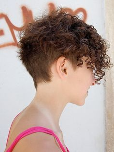 I know my hair won't do this but adorable!