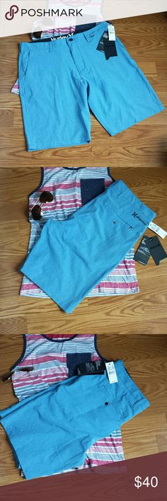 Men's Hurley phantom short Fusing Hurley boardshort innovation with classic walkshort styling ,this hybrid short is the  perfect fit from the line up to the beach to the streets Hurley Swim Board Shorts