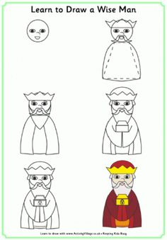 Learn to Draw a Wise Man