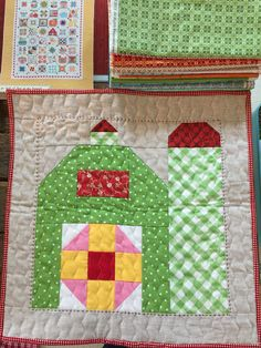 Have I told you how much I love this book? LOL       I'm making some Christmas gifts for my quilty friends.   I know that this friend lov...