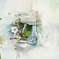 Digital Scrapbooking Layouts, Design