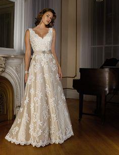 Wedding Dress_Formal A-line 10C153 - Click Image to Close