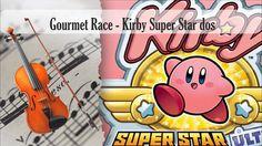 Partitura Gourmet Race - Kirby Super Star Versión Dos Violín