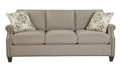 Craftmaster Reed Transitional Sofa with Scalloped Border and Nailhead Trim - Belfort Furniture - Sofa