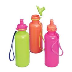 $17.95 for 12 Neon Sports Bottles | Party Supply Store | Novelty Toys | Carnival Supplies | USToy.com
