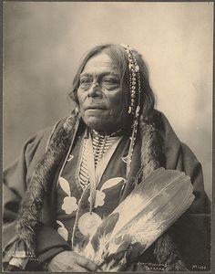John Williams, Tonkawa 1898 - Photographer Frank A. Rinehart