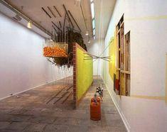 Sweet for Three Oranges, 1995 - Jessica Stockholder