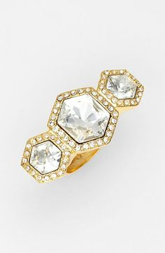 Vince Camuto 'Diamonds in the Sky' Crystal Cocktail Ring available at #Nordstrom
