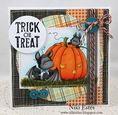 by Niki Estes - My Paper Creations: Trick or Treat: Whimsy Stamps October Release Showcase Day Two
