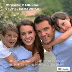 Consider increasing your dietary fiber by adding a prebiotic like MSPrebiotic® to your diet.  It's hard to imagine someone who couldn't benefit from adding a sustained energy boost to their day,  whether it be elite athletes or young parents just trying to make it through to their children's bedtime.