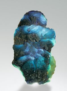 Fluorite - work of art - from Summit Cleft, Weißeck area (incl. Rauchkopf; Riedingscharte), Murwinkel, Lungau, Salzburg, Austria